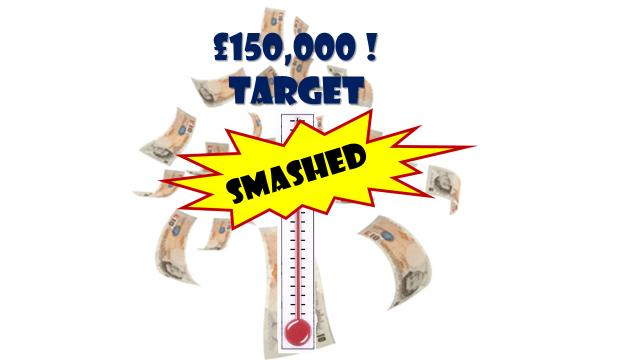 NICE bang on £150k target