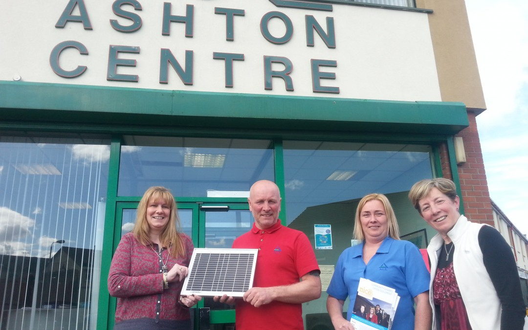 Ashton Centre Opted into NICE Solar Project
