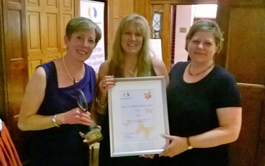NICE 'One to Watch' WINNER @ Social Enterprise Awards 2015